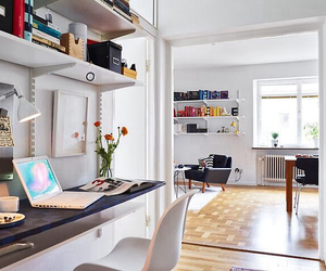 girl, interior design, and organized image