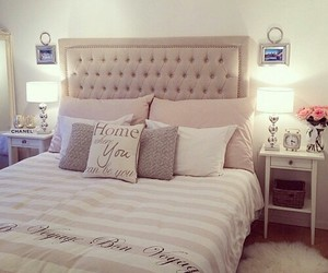 bed, chanel, and cosy image