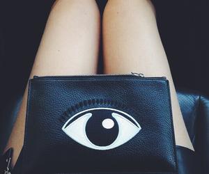 fashion, eye, and bag image