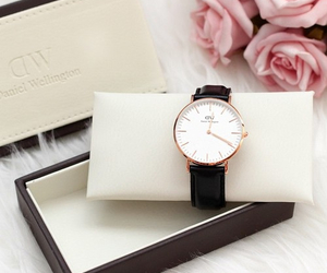 watch, fashion, and rose image