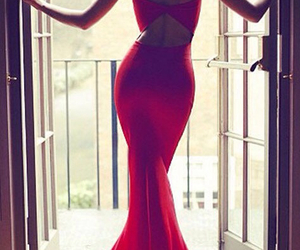 dress, sexy, and fashion image