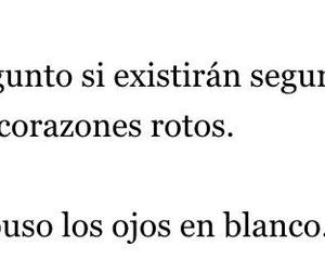 blanco, corazones, and frases image