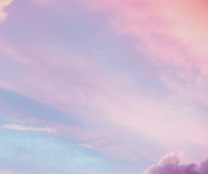 beautiful, blue, and headers image