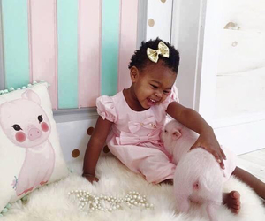 adorable, baby girl, and forever image