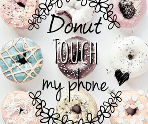 background, donut, and dunuts image