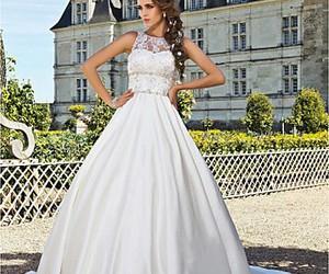 dress, wedding dress, and wedding dresses 2013 image