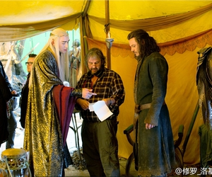 the hobbit, lee pace, and bard image