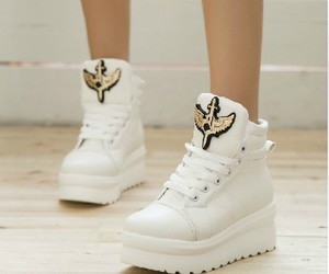 fashion, platform, and shoes image