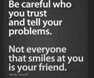 quotes, trust, and friends image