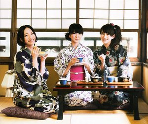 japanese, perfume, and yukata image