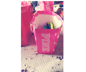 love it, pink, and shopping image