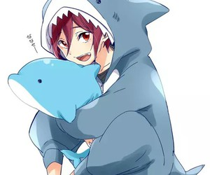 rin, free!, and anime image