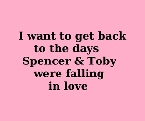 falling in love, first time, and spencer image