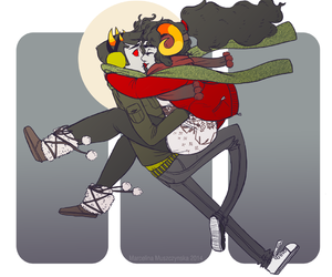 shipping, homestuck, and sollux captor image