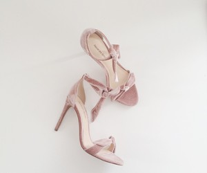 beautiful, heels, and lilac image