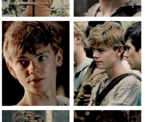 newt, W, and the maze runner image
