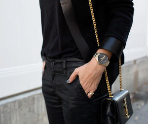fashion, watch, and girl image