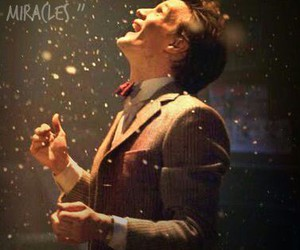 doctor who, matt smith, and miracle image