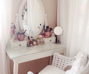 room, white, and girly image