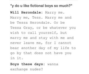 books, boys, and fictional image