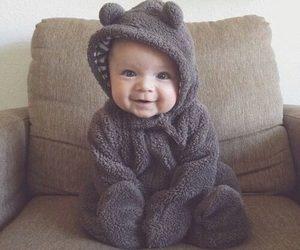 baby, cute, and bear image