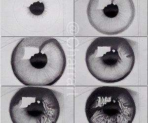 eyes, eye, and art image