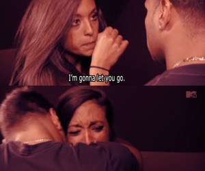 jersey shore, quote, and sad image