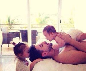 babies, chill, and daddy image
