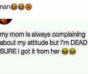 attitude and mom image