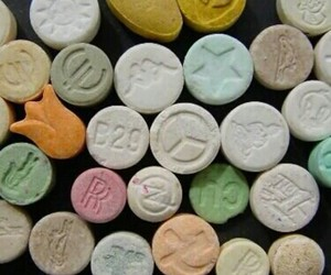 drugs, ecstasy, and mdma image