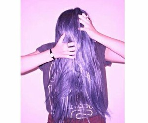 hair, photo, and love image