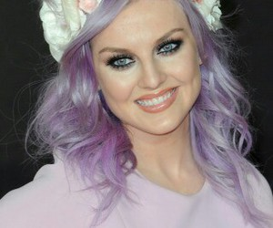 light purple, flowers, and perrie image
