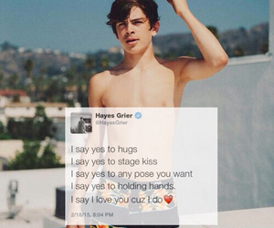 photoshoot, wallpaper, and hayes grier image