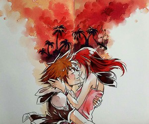 kingdom hearts, kairi, and love image