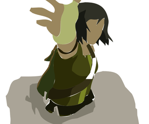 avatar, earthbender, and korra image
