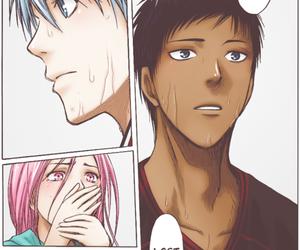 kuroko no basket, aomine daiki, and manga image