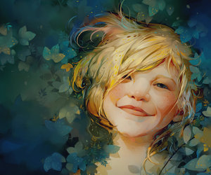 art, awesome, and child image