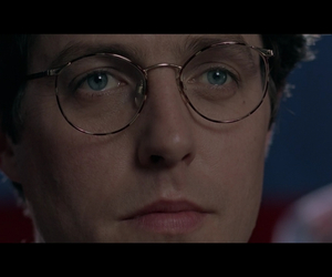 blue eyes, hugh grant, and crush image