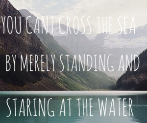 inspirational, mountains, and quote image