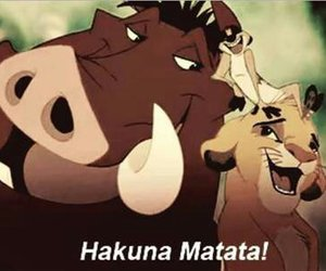 bitch and hakuna matata image