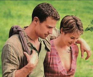 four, insurgent, and theo james image