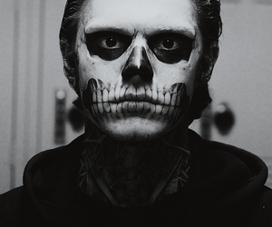 madness, skull, and tate image