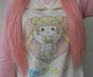 sailor moon, hair, and kawaii image