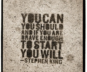 quote and Stephen King image