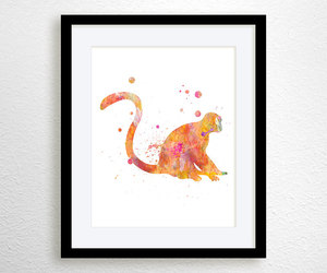 etsy, illustration, and wall decor image