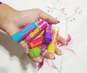 lips, Maybelline, and love image