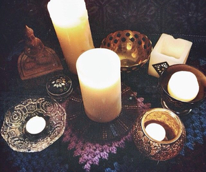 candle, grunge, and peace image