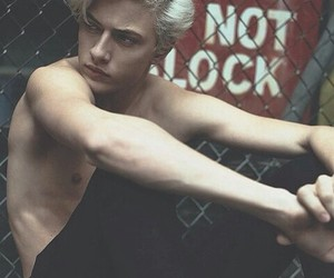 boys, lucky blue smith, and Hot image