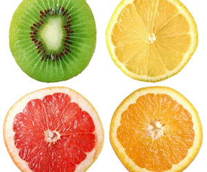 fruit, healthy, and kiwi image