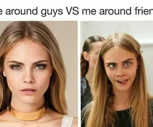 funny, friends, and guys image